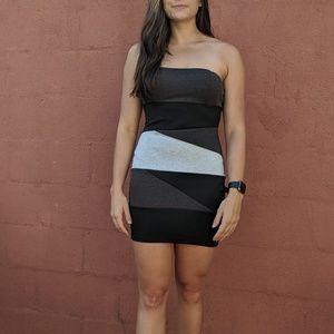 Bodycon Colorblock Dress
